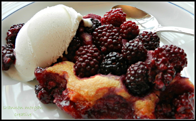 Food Allergy Friendly Fruit Cobbler