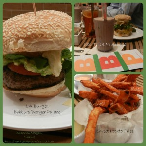 Bobbys Burger Palace burger fries shake