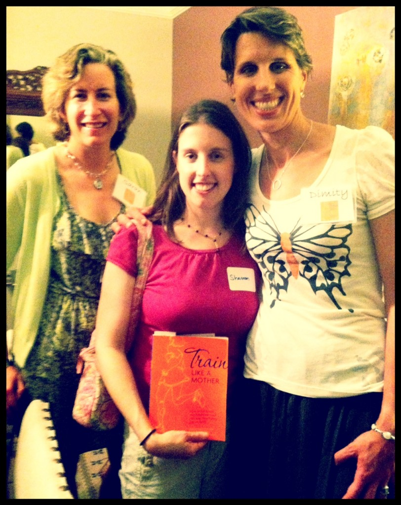 Sarah Bowen Shea Dimity McDowell authors of Train Like A Mother
