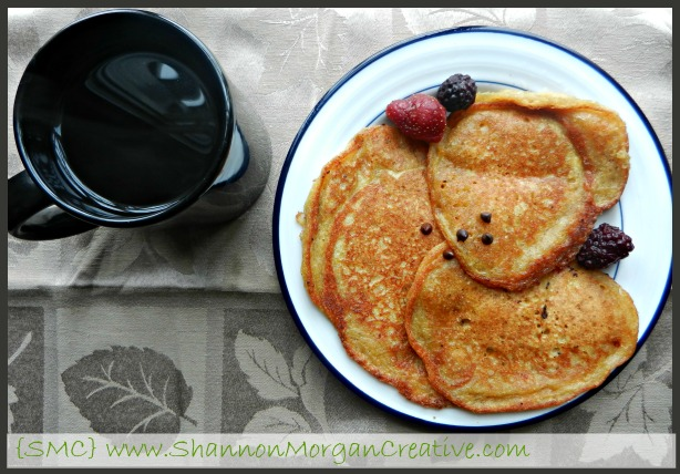 Gluten Free Pumpkin Spice Pancakes