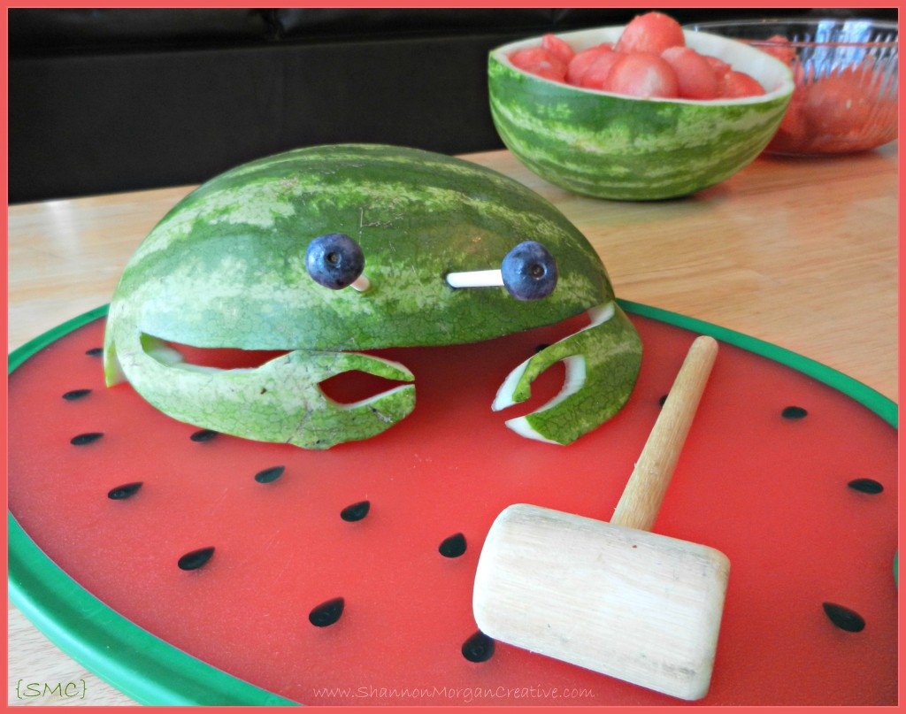 How To Carve A Watermelon Shannon Morgan Creative