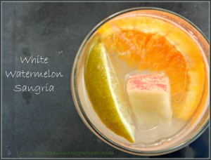 White Watermelon Sangria Recipe
