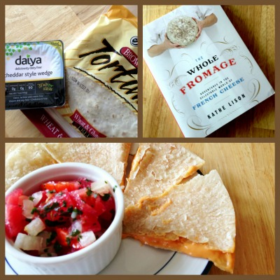 Cheese Quesadilla Gluten and Dairy Free