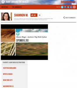 Shannon Morgan Jauntaroo Video Submission