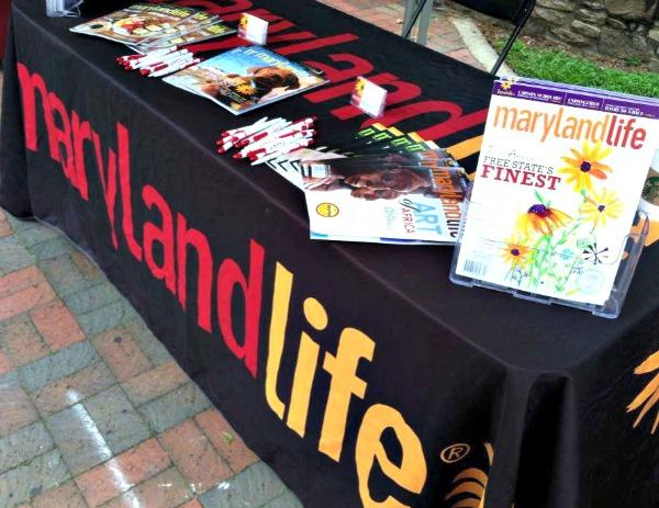 Maryland Life at Gaithersburg Book Festival